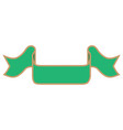 ribbon green sign 1111 vector image vector image