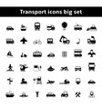 Set of universal transportation vehicles vector image