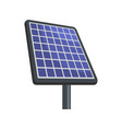 solar energy icon flat style vector image vector image