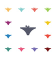 underwear flat icons set vector image