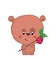 bear 1 vector image