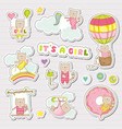 baby girl stickers for shower party