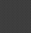 black cell comb seamless pattern vector image vector image