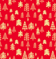 Christmas pattern81 vector image