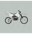 Enduro bike motocross vector image vector image