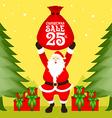 Santa Christmas Sale vector image vector image