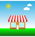 Small Shop vector image vector image