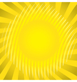 Sun theme vector image