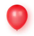 3d realistic colorful balloon birthday balloon vector image vector image