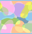 abstract background shapes colors vector image vector image