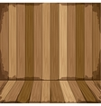 background in wooden shape floor vector image