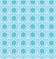 blue pattern with hexagons vector image vector image