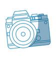 camera technology photo travel equipment vector image vector image