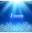 Foam Background vector image vector image
