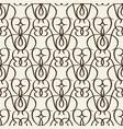 fragment of decorative vintage lattice vector image vector image