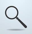 Icon of Magnifier glass vector image