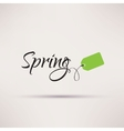 Icon of sale seasonal Spring Isolated vector image vector image