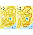 kids maze vector image