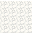 Seamless pattern with abstract circle doodle vector image vector image