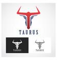 taurus symbol vector image vector image