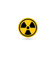 toxic icon radiation pictogram biohazard vector image