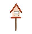 A mail Box vector image vector image