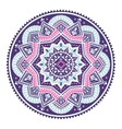 Beautiful Aztec tribal mandala ornament vector image vector image