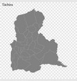 high quality map a state venezuela vector image vector image