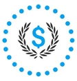 Laurel Bank Emblem Icon vector image vector image