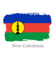 national new caledonia banner for design vector image