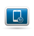 Phone with navigation icon vector image vector image