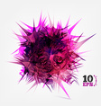 Purple Virus vector image vector image