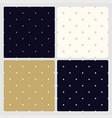set seamless minimalistic stylish patterns vector image vector image