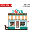 Toy shop icon isolated on white background vector image