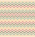 zigzag seamless striped pattern - retro vector image vector image