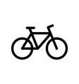 Bike icon vector image