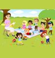 children s activities at vector image