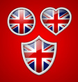 British icons vector image