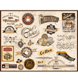 Collection of Vintage Labels vector image vector image