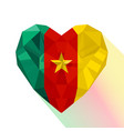 flag of the republic of cameroon vector image