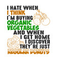 i hate when think m buying vector image