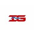 iG company logo vector image vector image