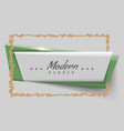 new modern or trendy banner vector image vector image