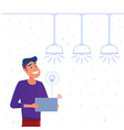 Smart home energy management system concept