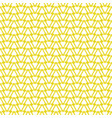 tile pattern with yellow triangles background vector image vector image