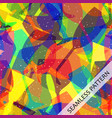 seamless abstract pattern with glasses vector image