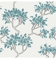 seamless pattern of tree branches with vector image