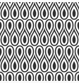 abstract seamless pattern drops vector image vector image