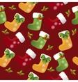 christmas sock or boot vector image