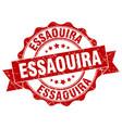 essaouira round ribbon seal vector image vector image